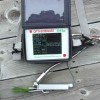 OS1p fluorometer on table