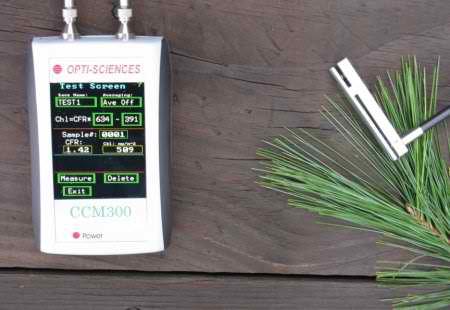 CCM300 chlorophyll content meter