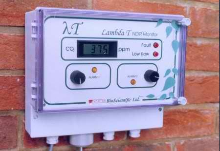 Lambda T CO2 monitor