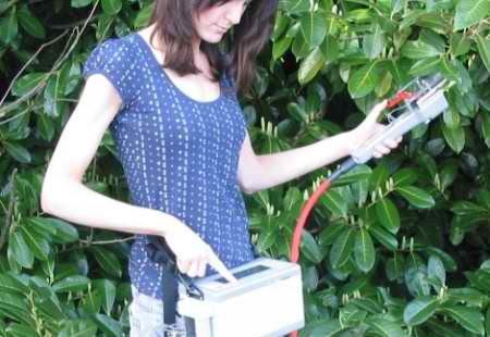 LCi-SD portable photosynthesis system in use
