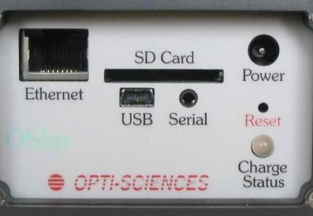 OS5p+ fluorometer side panel