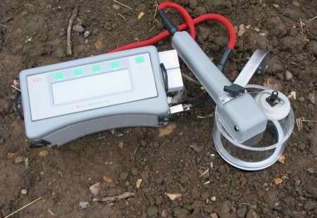 SRS1000 soil respiration system in use