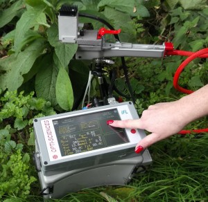 iFL integrated fluorometer in use