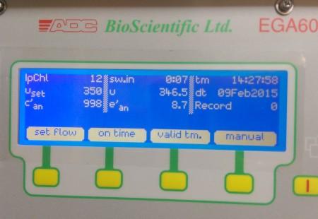 EGA61 display