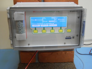 EGA30 wall mounted gas analyser