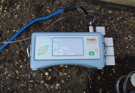 SRS2000 T soil respiration system